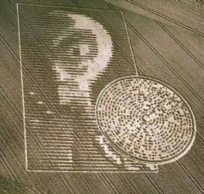 """The Crabwood Alien Crop Circle"""