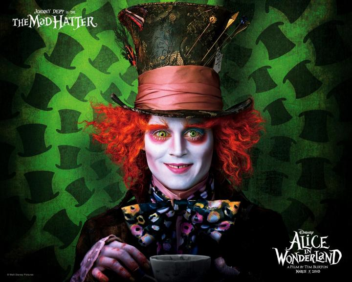 alice in wonderland 2011 Johonny depp
