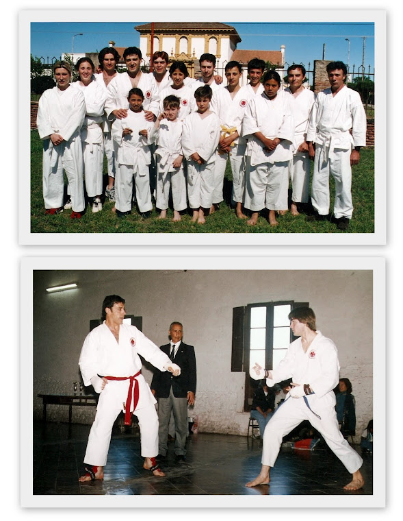 TORNEO REGIONAL DE KARATE DO ITOSU KAI - CARHUE 26/10/2003