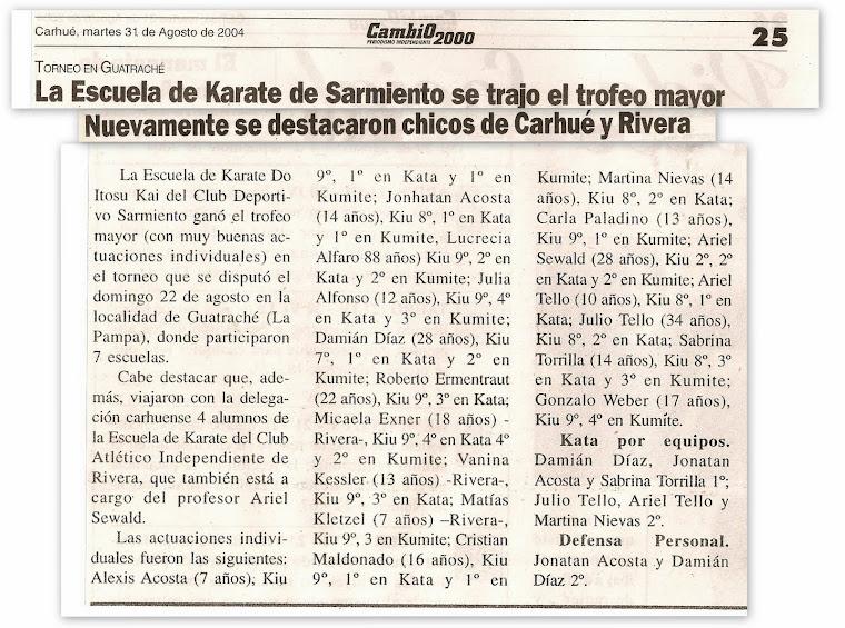 TORNEO ABIERTO DE GUATRACHE 22/08/2004