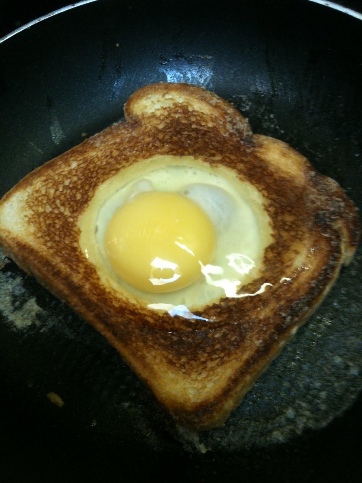 Fancy Egg In A Hole Recipe — Dishmaps