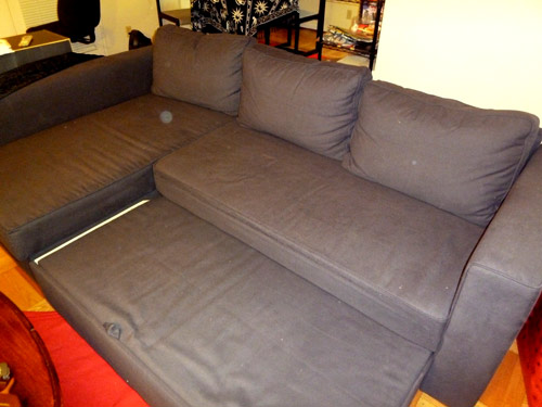 manstad sofa bed sofa beds. Black Bedroom Furniture Sets. Home Design Ideas