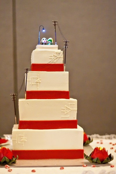 Anime Wedding Cake