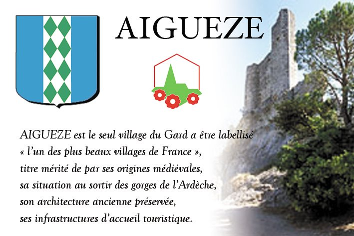 AIGUEZE L'un des plus beaux villages de France