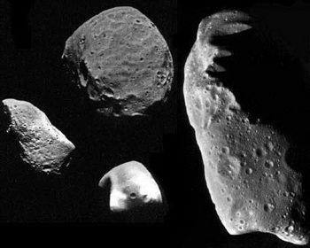 Dua asteroid ditemukan mengandung air dan bahan molekul organik.