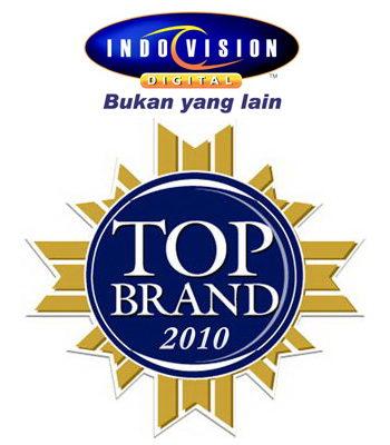 Berita terbaru tentang penghargaan Top Brand Award 2010 yang diterima Indovision.