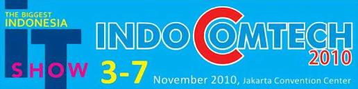 Indocomtech 2010, The Biggest Indonesia IT Show. Denah dan peta lokasi Indocomtech 2010 di Jakarta Convention Center. Daftar peserta pamaeran Indocomtech 2010.
