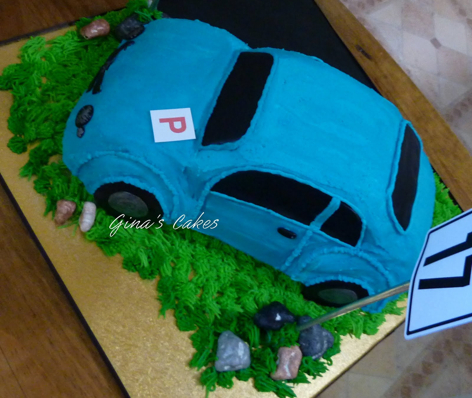 how to make a 3d cars cake