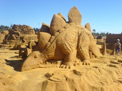Unique Sand Sculptures  Around The World