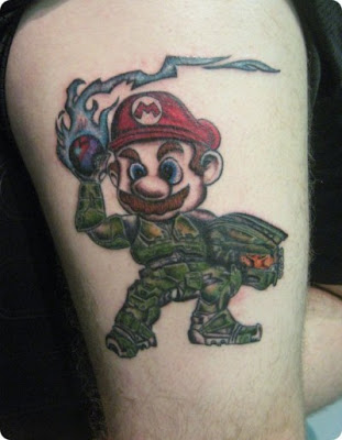15 Stupid Video Game Tattoos