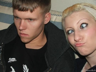Weird & Funny Face Photo's Collection