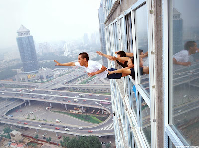 Chinese artist Li Wei's Optical Illusions