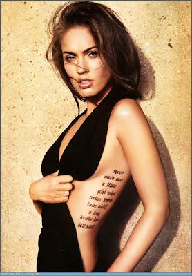Hot Girls With Weird Tattoos