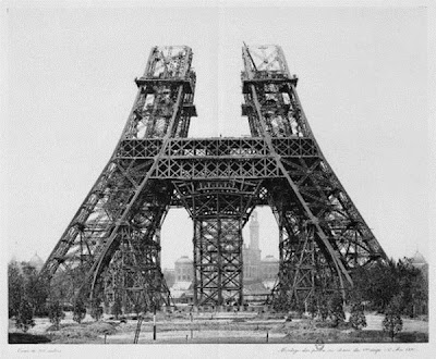 The Construction Of Eiffel Tower