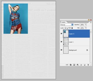 Newspaper Layout In Photoshop