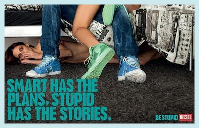 Diesel Jeans Be Stupid