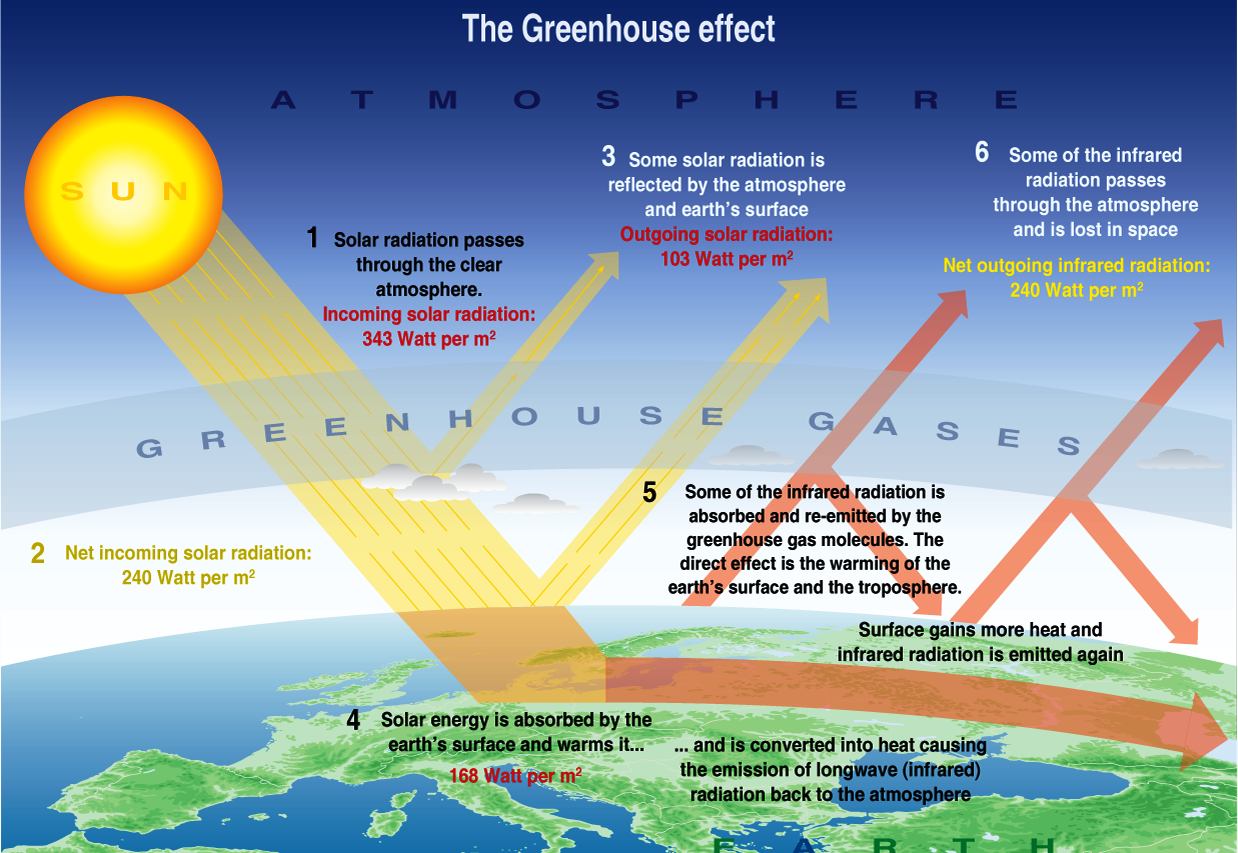 Greenhouse effect wikipedia the free encyclopedia share for Green housse effect