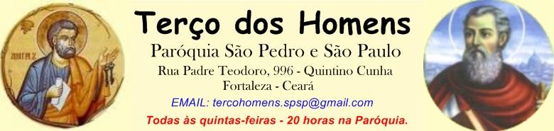 TERÇO DOS HOMENS PARÓQUIA SÃO PEDRO E SÃO PAULO