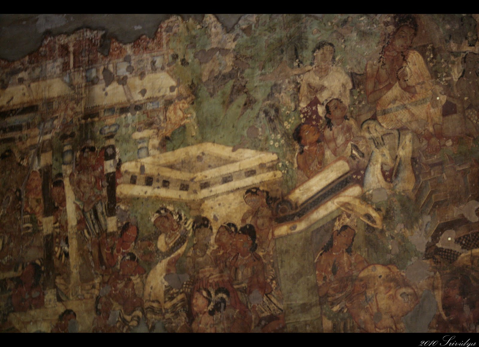 A journey called life ajanta caves for Ajanta mural painting