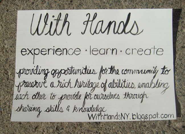 With Hands