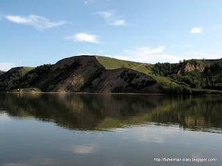 река Обь,рукотворные холмы
