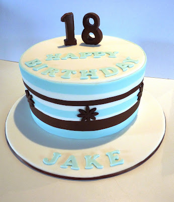 18th Birthday Cakes For Boys http://vanillalilycakedesign.blogspot.com/2009/10/18th-birthday-cake-for-jake.html