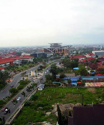 Central Pekanbaru View from Surya Dumai