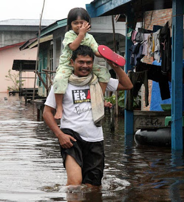 Banjir Riau Flood in Pekanbaru