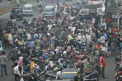 A Market in Agussalim Pekanbaru