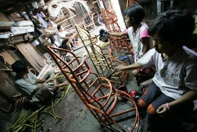 Foto anak-anak di Riau
