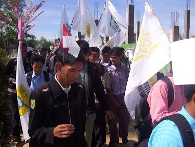 Demo Mahasiswa UIN Suska Riau