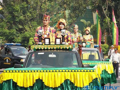 Adipura ke-5 as The Cleanest City of Indonesia
