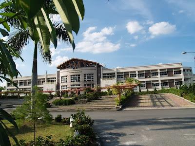 Main building of Polytechnic Caltex Riau