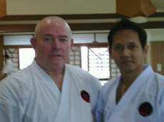 bersama sensei GEORGE ANDREWS, OTGKA  (8TH DAN)