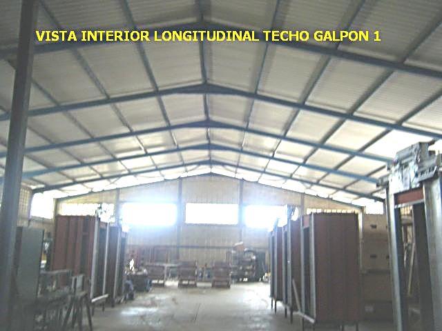 Edaca c a techos livianos para galpones industriales y for Cubiertas para techos livianas