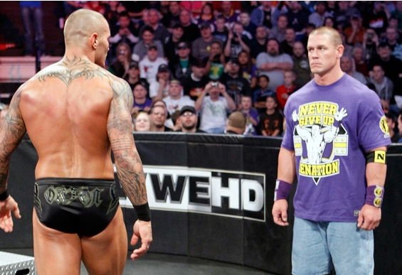 pictures of john cena and randy orton. WWE Bragging Rights John Cena
