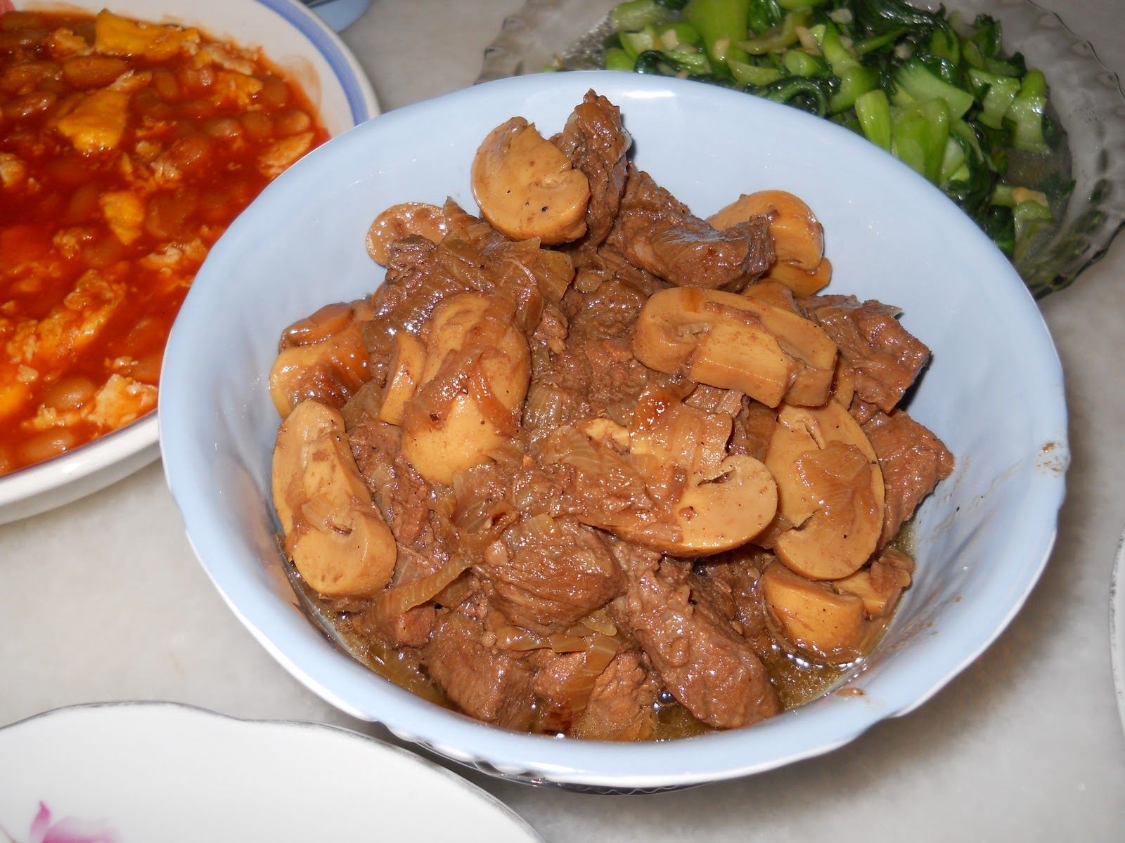 FOOD IDEAS: Beef Stew with Button Mushroom