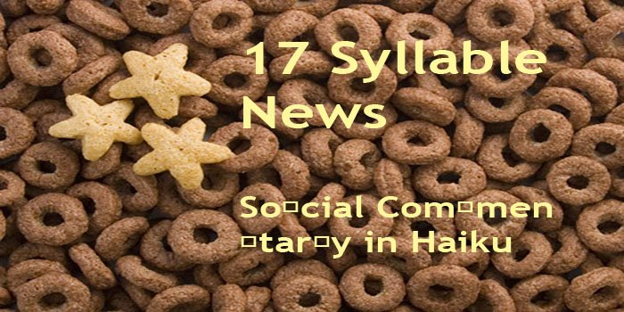 17 Syllable News