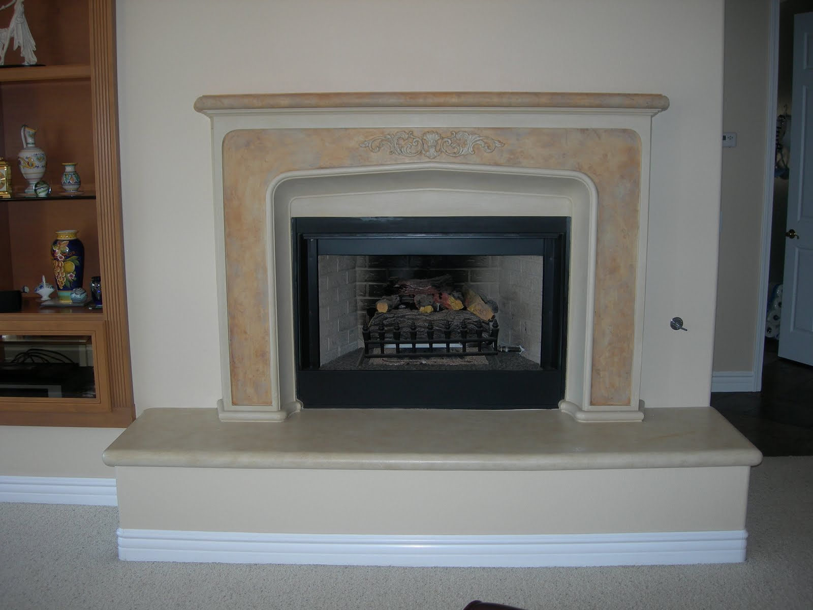 Rosespetitemaison a fireplace makeover How to do a home makeover