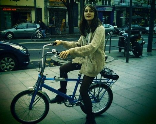 [Mathilde+on+Bike]