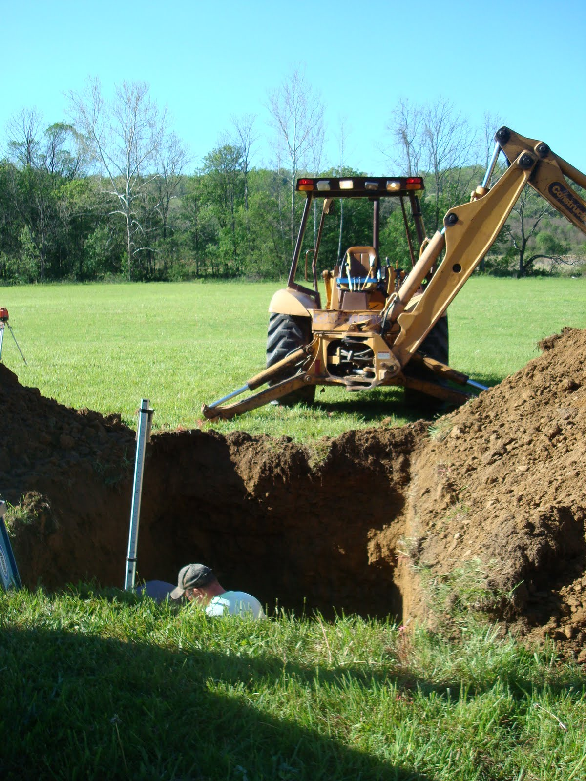 Ron and diana pike septic tank for Cabin septic systems