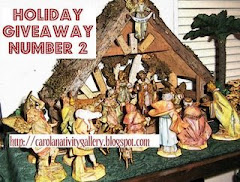 Giveaway at Carola Nativity Blog