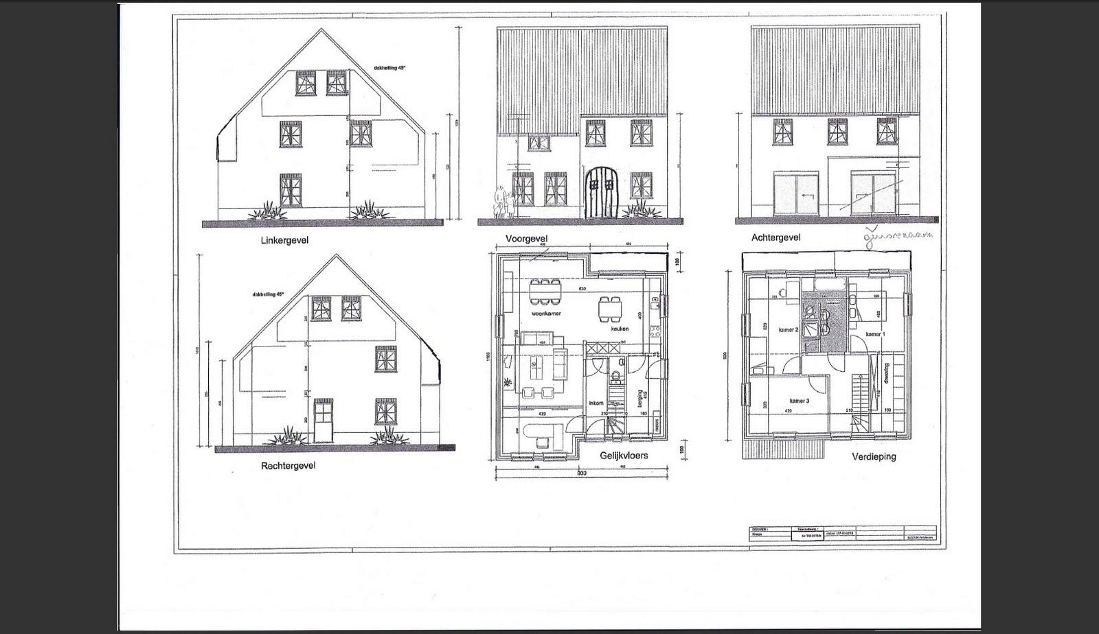 Johan katriens bouwblog architect en woningplannen for Grondplannen woningen