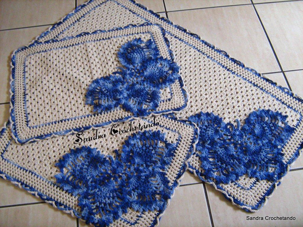 Arte Em Tapete De Barbante : TAPETE EM BARBANTE BORBOLETA, REF? T01: Crochet com Arte