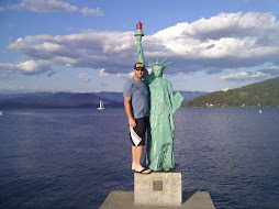 The Statue of Liberty is in Sandpoint, ID
