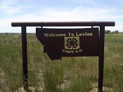 Stop # 14 Lavina, MT