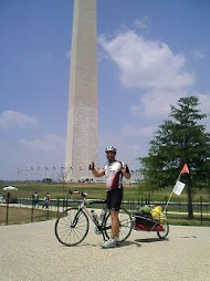 Tom at the Washington Monument