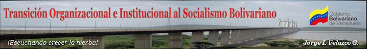 Transición Institucional y Organizacional al Socialismo Bolivariano