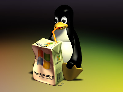 tux wallpaper. Cool Linux Wallpaper