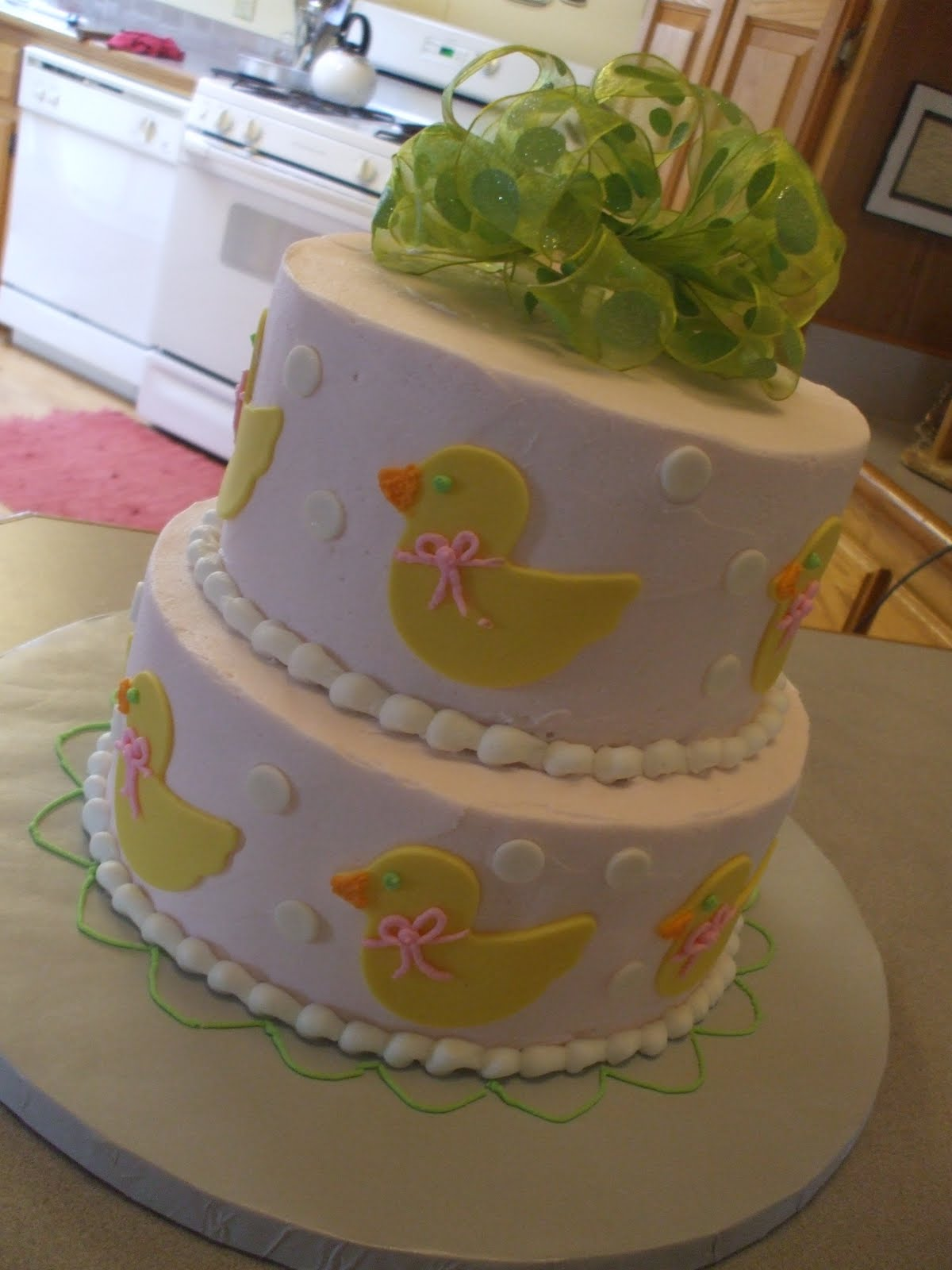 The Simple Cake A Ducky Birthday Cake